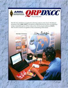 QRP-DXCC-ARRL