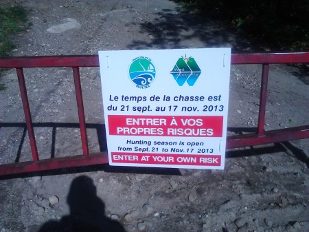 Mont_Morissette_Trail_Start_Warning