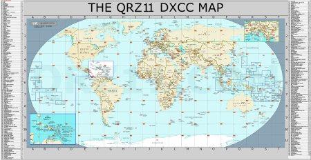 QRZ11-DXCC-MAP
