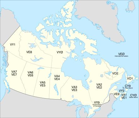 canadiancallsignmap